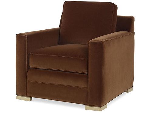 Velvet Chair in Ginger