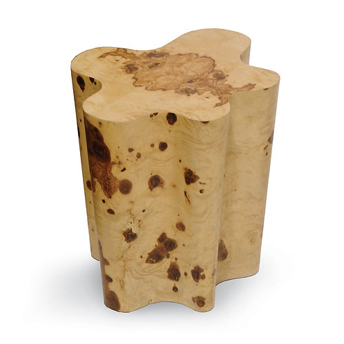 Burl Side Table