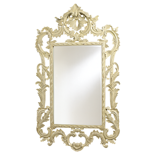 Louis XV Mirror Ivory