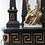 Thumbnail: PARIS Greek Style Decorations Console with Marble Top