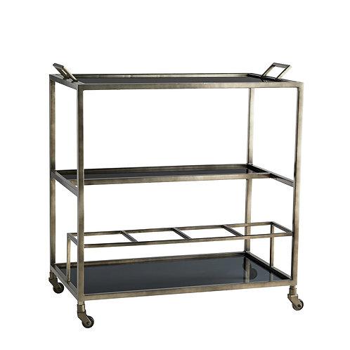 Graphite Bar Cart