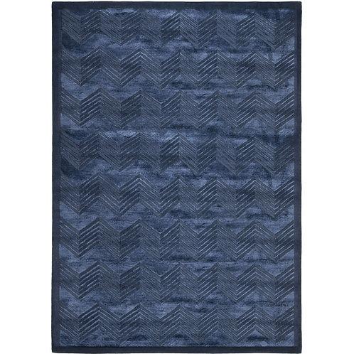 Ralph Lauren Monroe Chevron Sapphire 9 x 12