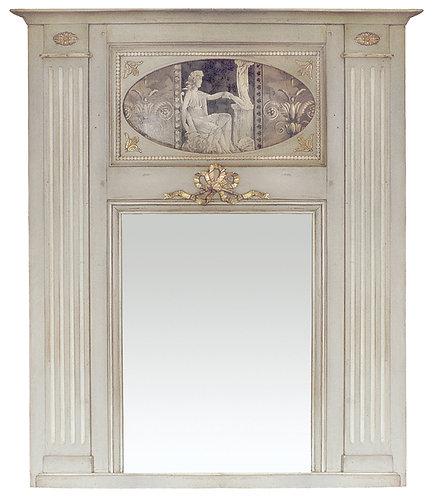PARIS Trumeau Louis XVI in Grey