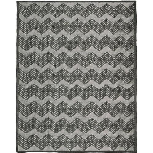 Ralph Lauren Monroe Chevron Platinum 8 x 10