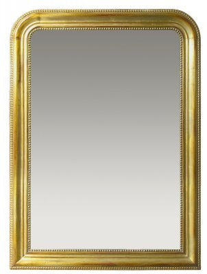 PARIS Miroir Louis Philippe in Gold Leaf