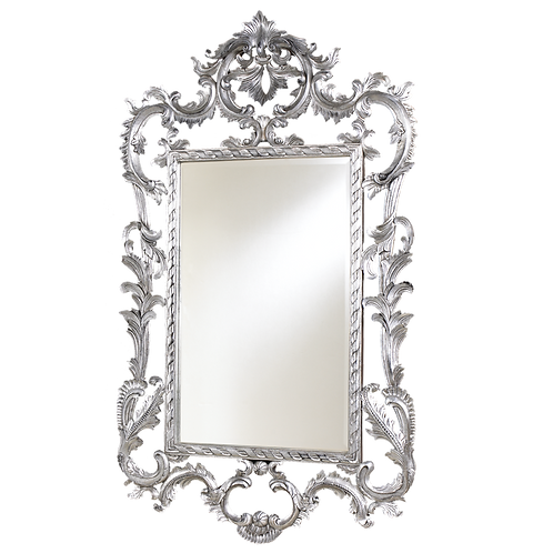 Louis XV Mirror Silver