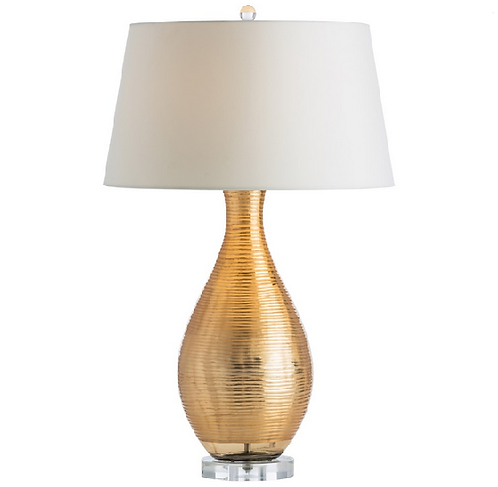 Gold Lacquer Table Lamp