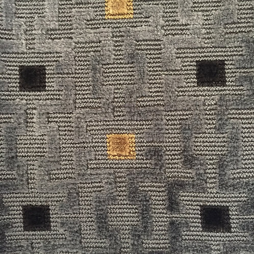 Pair / Charcoal Gray Velvet Pillows