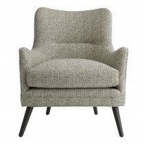 GrayTweed Silhouette Chair