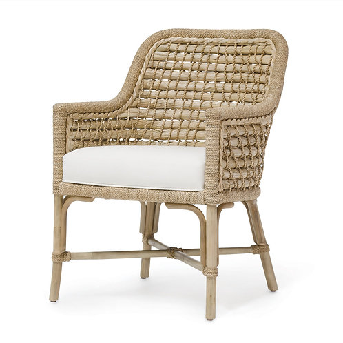 Seagrass Dining Arm Chair