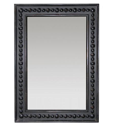 PARIS XIX Ethnique Miroir in Noir