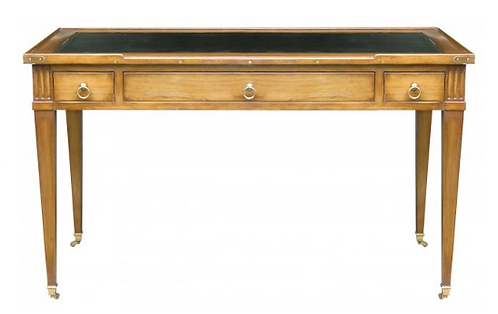 PARIS Louis XVI Writing Desk in Waxed Walnut