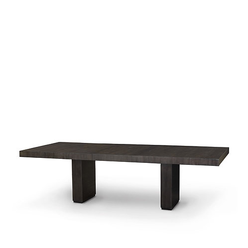 Espresso Dining Table with Extra Leaves