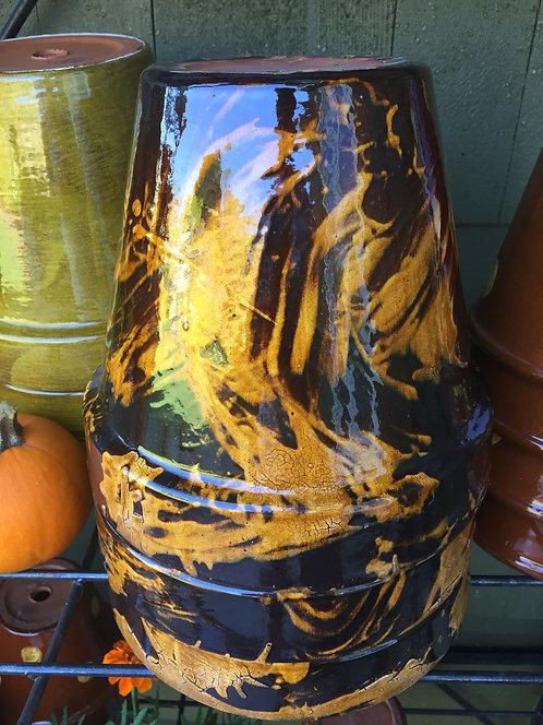 Tortoise Hand Glazed Pot