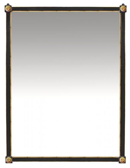 PARIS Miroir Louis XVI in Noir