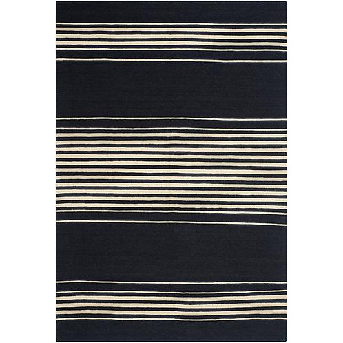 Ralph Lauren Bluff Point Stripe Cinder 9 x 12