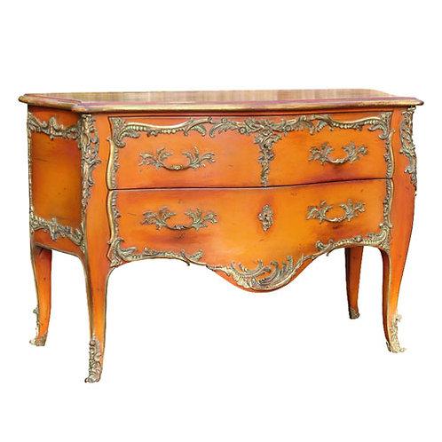 PARIS L. XV Chest-of-Drawers in Orange