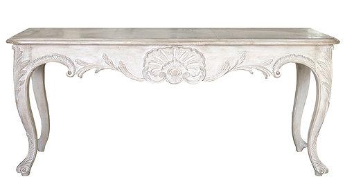PARIS Regency Console Table in Blanc