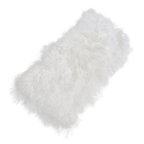 Mongolian Sheepskin White