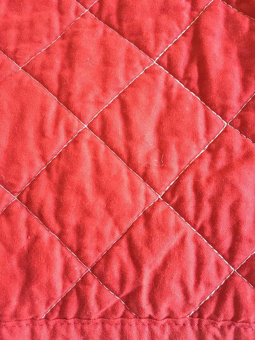 NEW Ralph Lauren Hudson River Valley RED Quilt / Queen