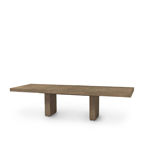 Sand Dining Table with Extra Leaves