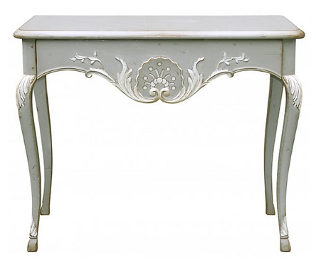 PARIS Console with Drawer in Grey