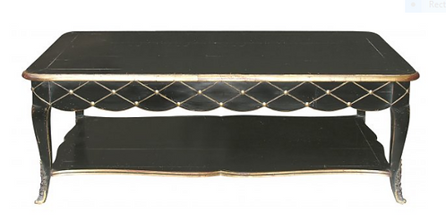 PARIS Regency Cocktail Table in Noir