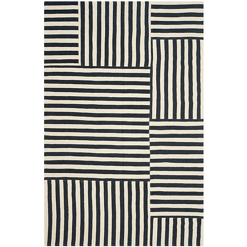 Ralph Lauren Canyon Stripe Patch Cinder 8 x 10