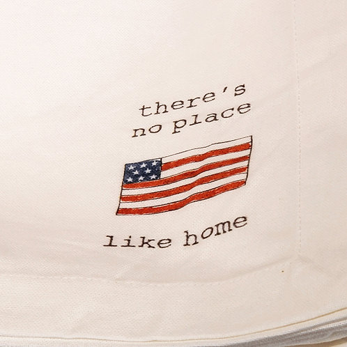"""NEW S/8 Napkins """"there's no place like home"""""""