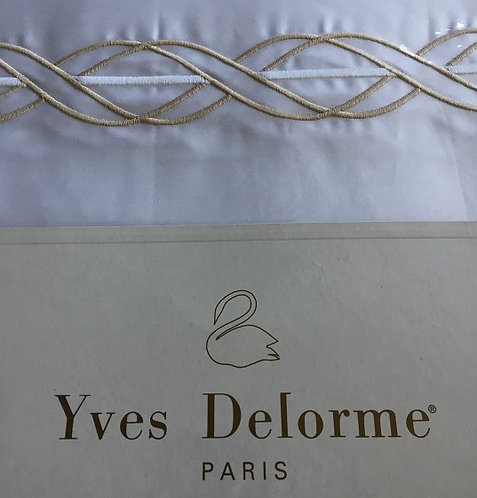 5 Piece Yves Delorme Paris Eoliane Queen Set Bedding