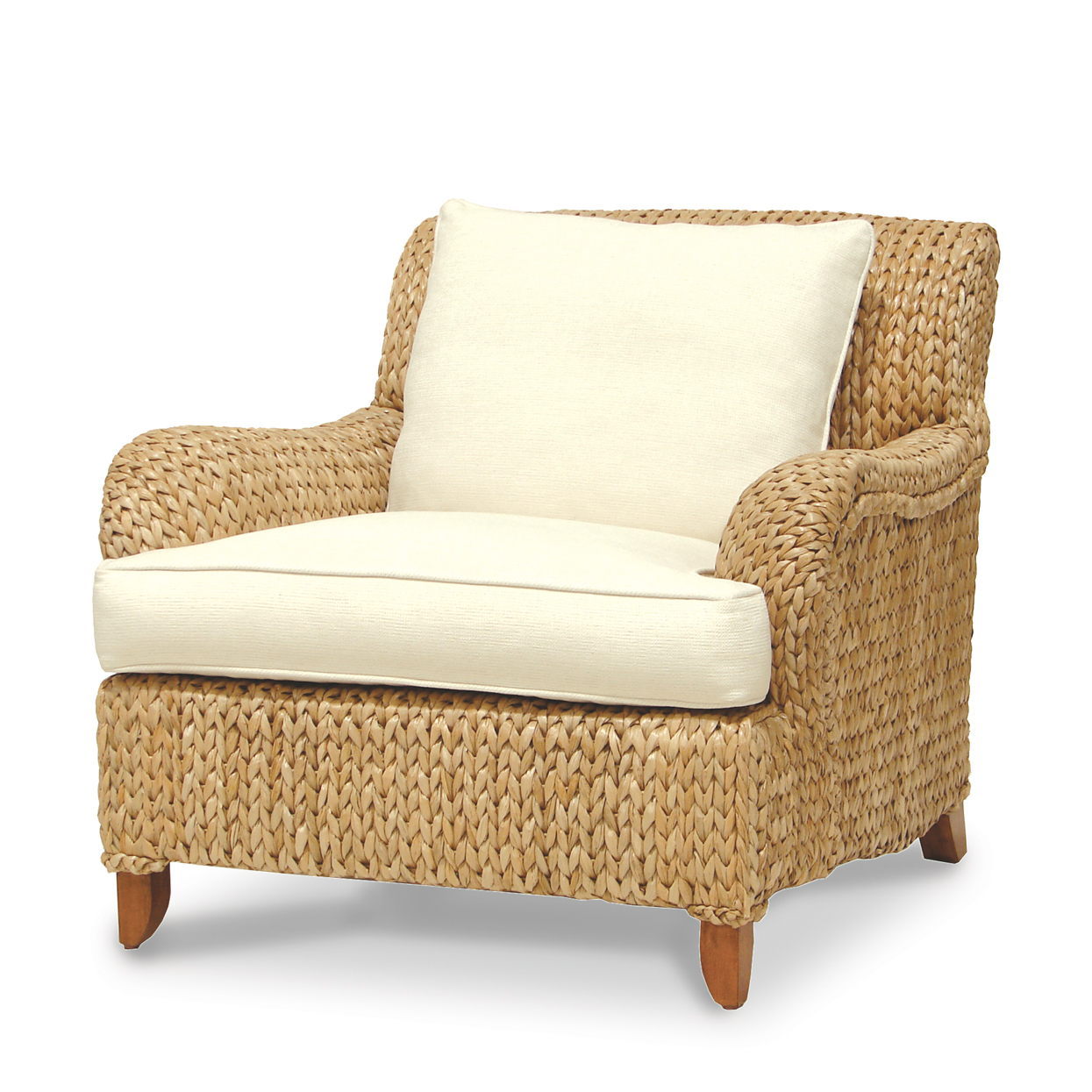 Sweater Weave Seagrass Lounge Chair