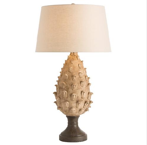 Porcelain Leaf Table Lamp