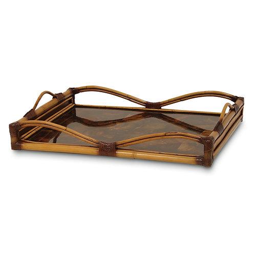 Penshell Ottoman Tray