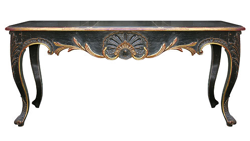 PARIS Regency Console Table in Noir