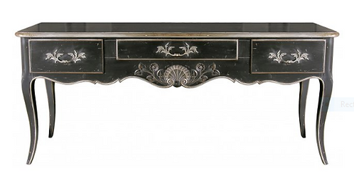 PARIS Regency Hunting Table in Noir