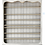 Thumbnail: PARIS Louis XV De Fontenoy Bookcase Tall in Blanc / Greige