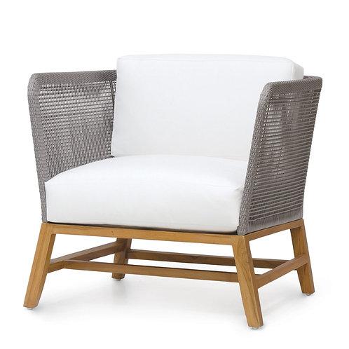 Modern Coastal Outdoor Lounge Chair