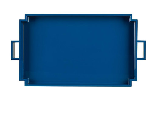 Blue Lacquer Tray
