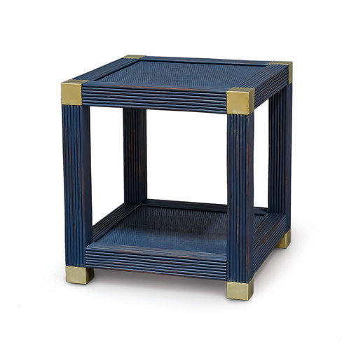 Deep Blue Side Table