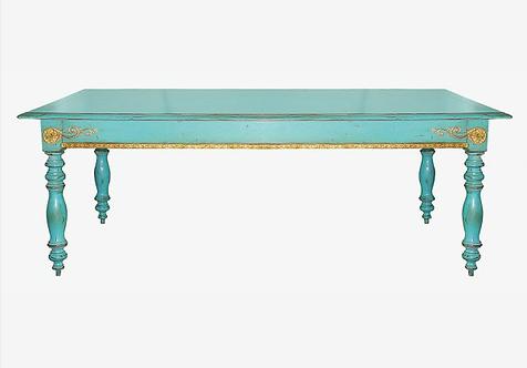 PARIS Table des Dominicaines XIX Turquoise