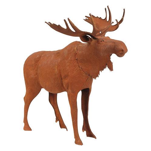 Moose in Rust Finish