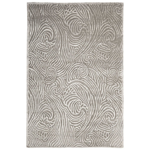 Ralph Lauren Highclere Silver Sky 8 x 10