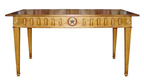 PARIS L.XVI Rectangular Farmhouse Dining Table/Waxed Walnut