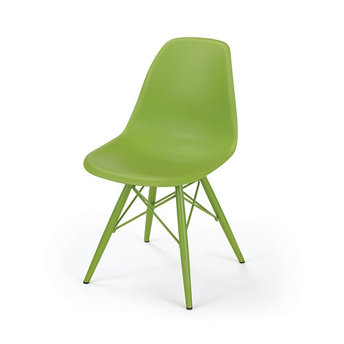 S/2 Late Summer Green Deck Chair