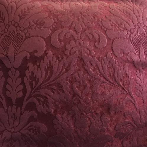 PAIR Ralph Lauren Wineberry Damask Pillows (2)
