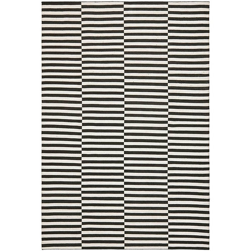 Ralph Lauren Cameron Stripe Coal/Surf 9 x 12