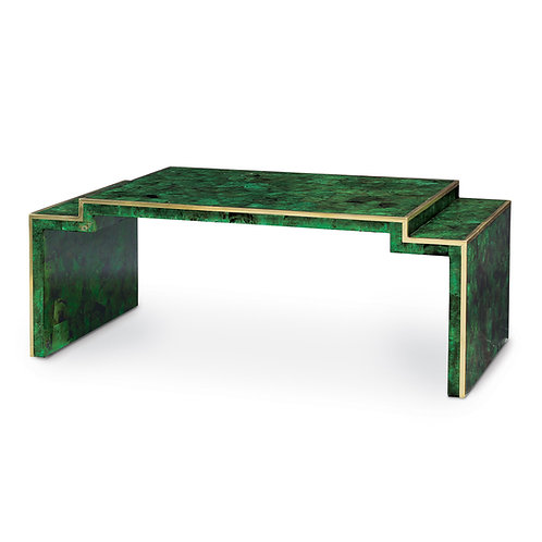 Emerald Penshell Cocktail Table