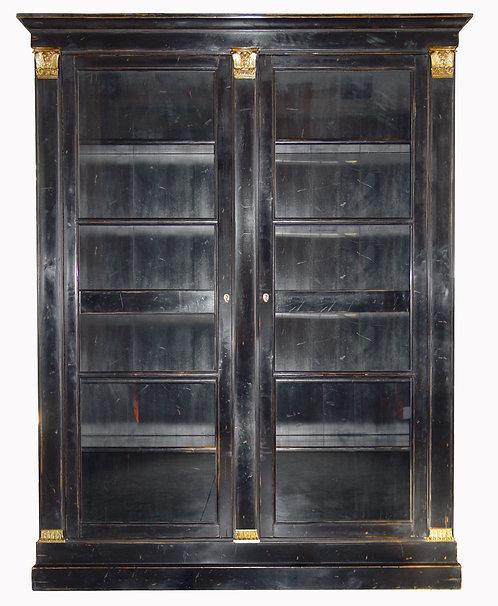 PARIS Bibliotheque Louis XVI Style Noir