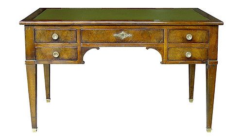PARIS Directoire Desk in Waxed Walnut