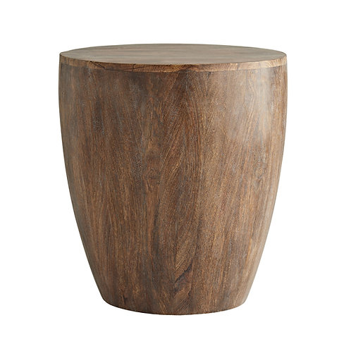 Drum Table in Tobacco